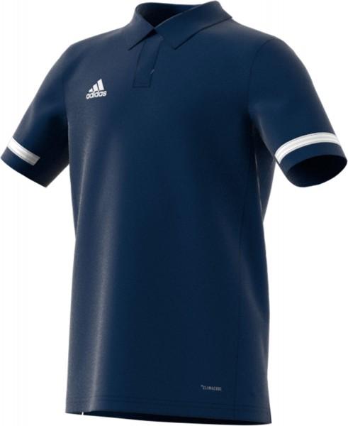 adidas T19 Polo Shirt Boys blau/weiß, DY8859
