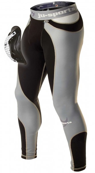 Ju-Sports Compression ProLine Spats + Motion Pro Flexcup, Tiefschutz