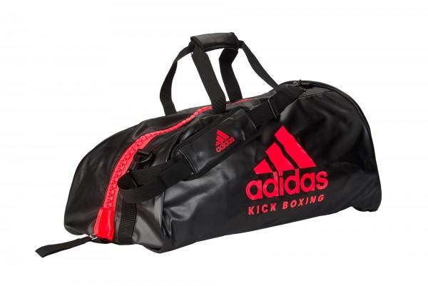 "adidas 2in1 Bag ""Kickboxing"" black/red PU L, adiACC051KB"