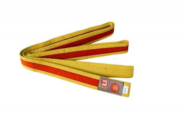 Budogürtel gelb/orange/gelb