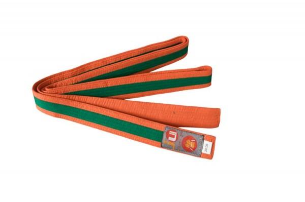 Budogürtel orange/grün/orange