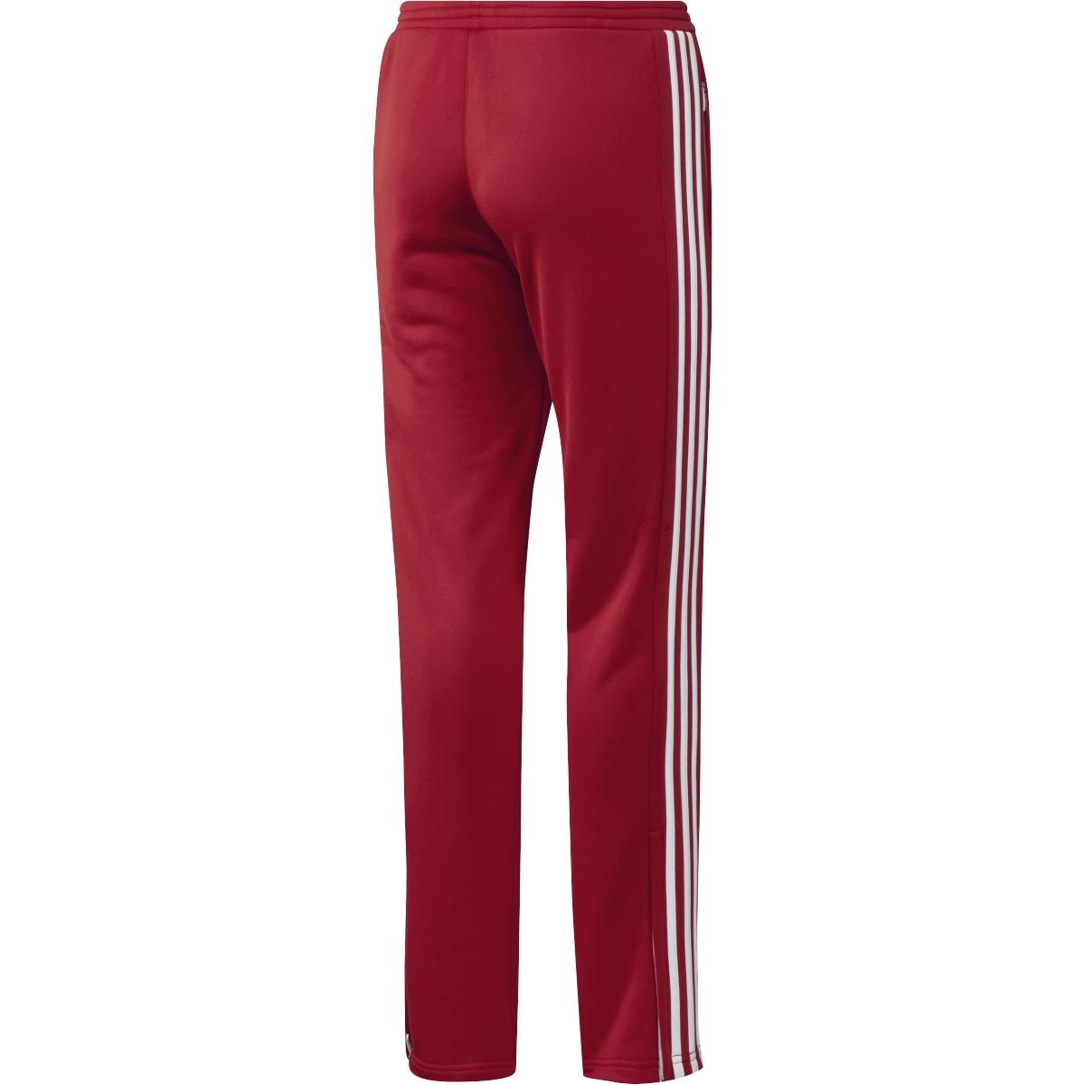 adidas T16 Team Sweat Hose Damen power rot weiß AJ5392