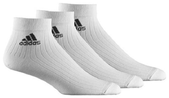 adidas Sportsocken, 3er Pack weiß