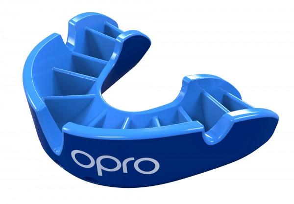 OPRO Zahnschutz Junior Silver - Blue/Light Blue