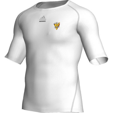 adidas Techfit Entry Shirt Shortsleeve weiß DTU