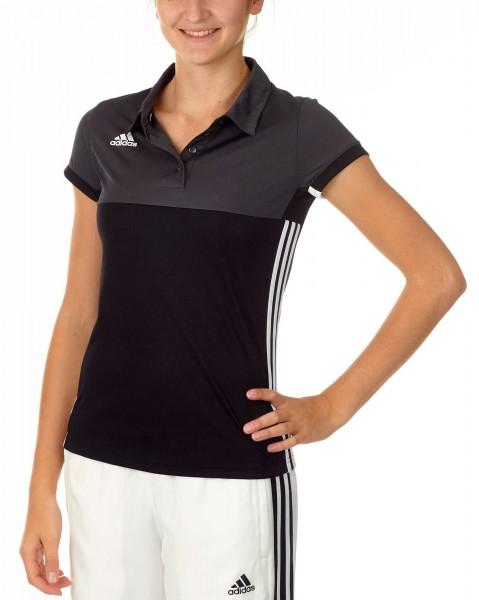 adidas T16 Clima Cool Polo Damen schwarz/grau AJ5475