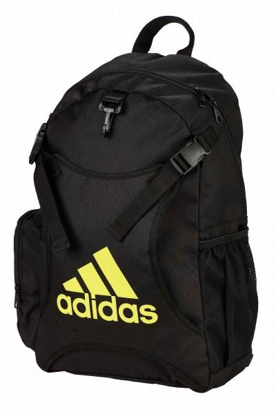 adidas Taekwondo Rucksack mit Westenhalter ADIACC096 black/shock yellow