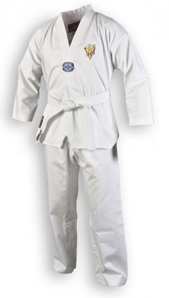 Taekwondoanzug Chagi mit DTU Stickerei