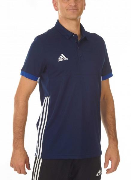 adidas T16 Team Team Polo Männer navy blau /weiß AJ5278
