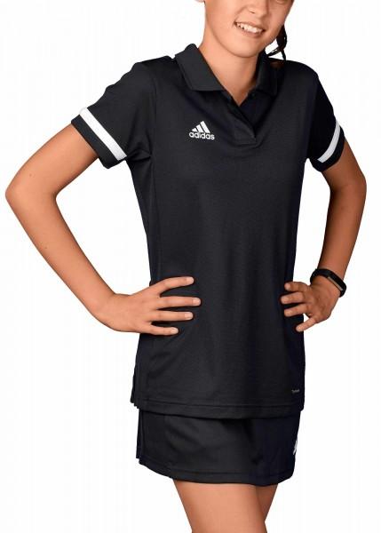 adidas T19 Polo Shirt Girls schwarz/weiß, DW6790