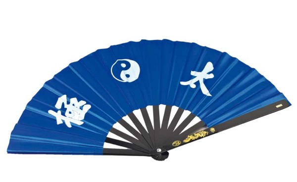 Tai Chi Fächer blau