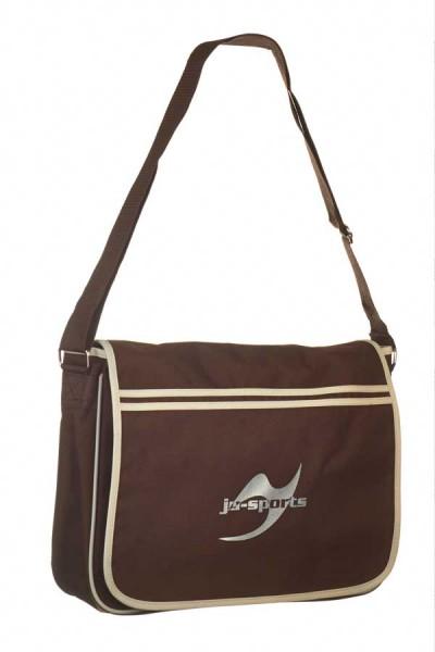 Retro Messenger Bag chocolate/sand
