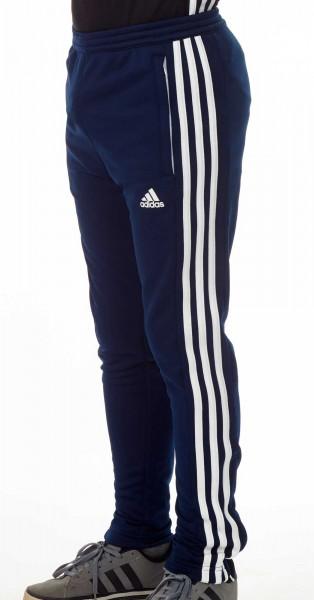 adidas T16 Team Sweat Hose Kids navy blau /weiß AJ5387