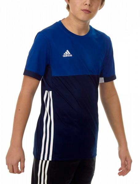 adidas T16 Clima Cool Tee Jungen navy blau/royal blau AJ5433