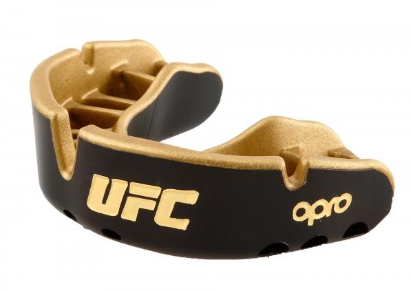"""OPRO """"UFC"""" Zahnschutz Gold Senior black/gold"""