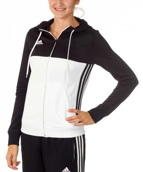 adidas T16 Team Hoodie Damen schwarz/weiß AJ5404
