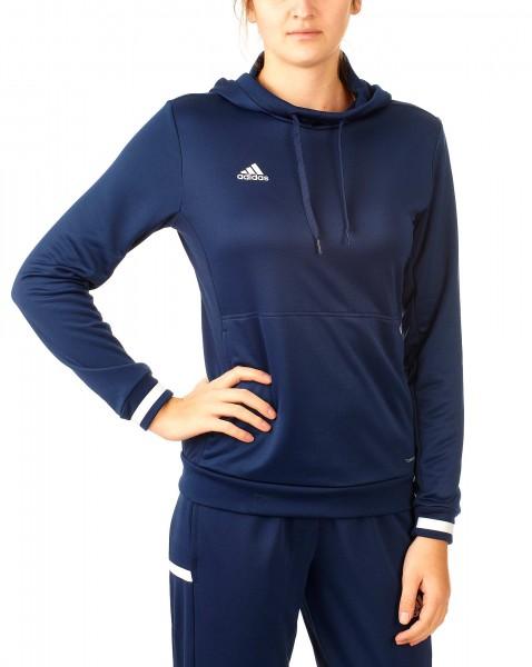 adidas T19 Hoodie Damen blau/weiß, DY8823
