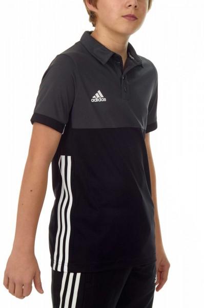 adidas T16 Clima Cool Polo Jungen schwarz/grau AJ5470