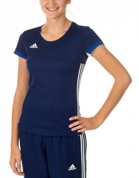 adidas T16 Team Team Tee Damen navy blau /weiß AJ5302