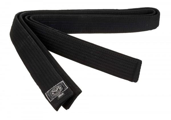 Gürtel schwarz Master 5 cm