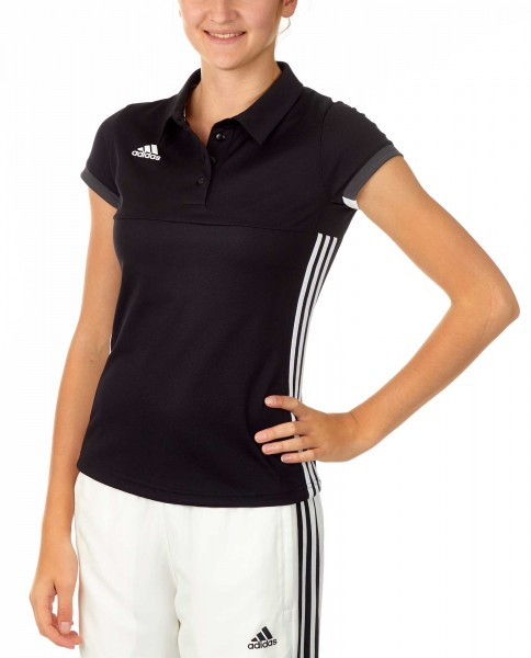 adidas T16 Team Team Polo Damen schwarz /weiß AJ5273