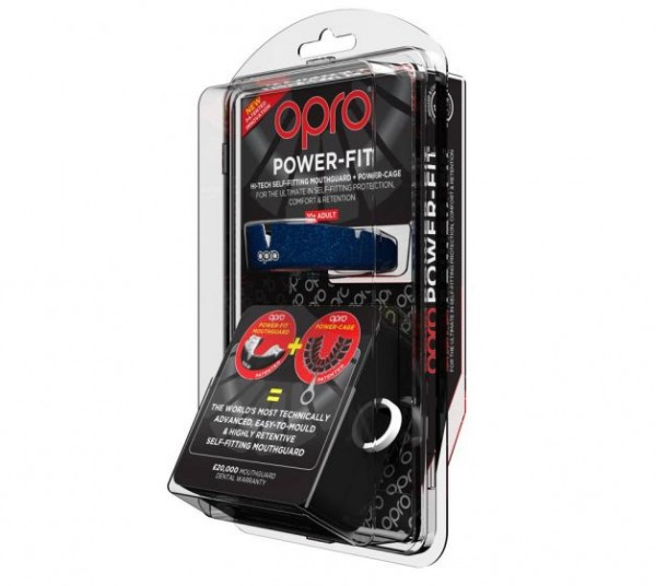 OPRO Zahnschutz PowerFit Camo blue/black