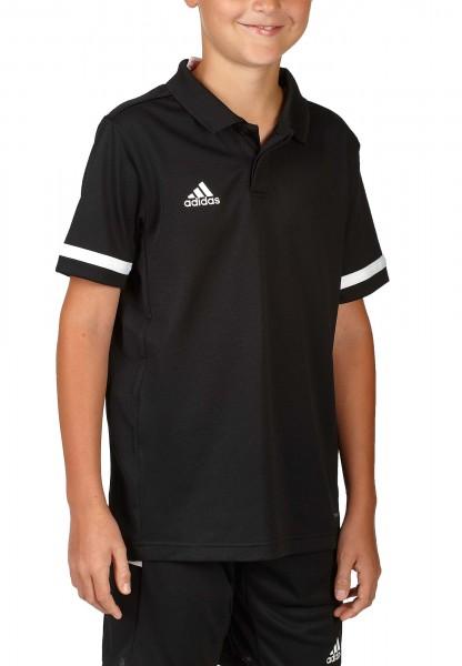 adidas T19 Polo Shirt Boys schwarz/weiß, DW6789