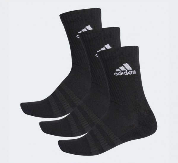 adidas Sportsocken, 3er Pack schwarz lang DZ9357