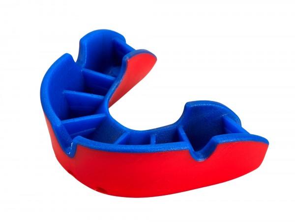 OPRO Zahnschutz Junior Silver - Red/Blue