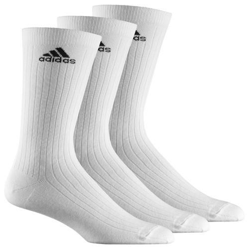 adidas Sportsocken, 3er Pack weiß lang Z11422