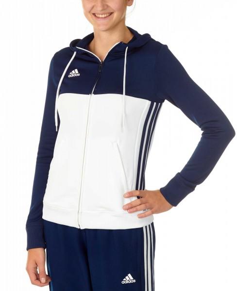 adidas T16 Team Hoodie Damen navy blau /weiß AJ5405