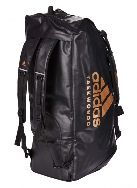 adidas 2in1 Bag Taekwondo black/gold PU, adiACC051