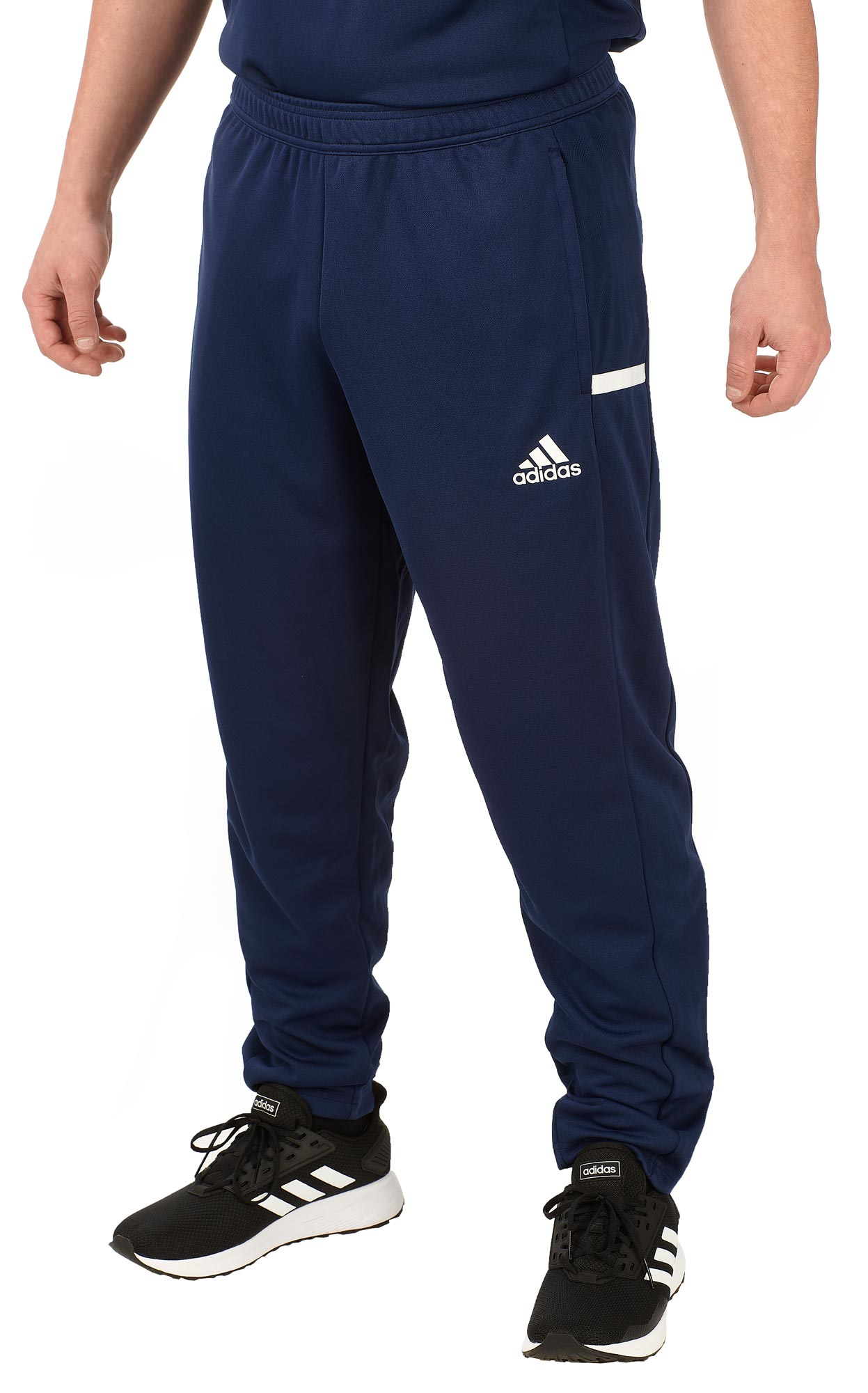 adidas T19 Trekking Pants Männer blauweiß, DY8809