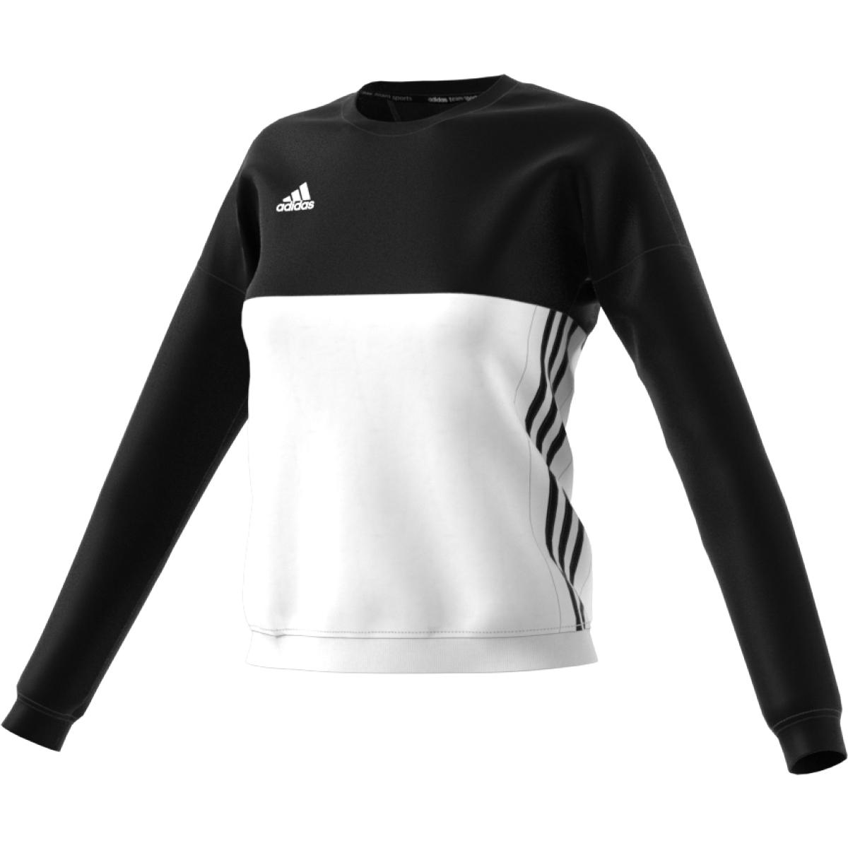 adidas T16 Team Sweater Damen schwarz weiß AJ5414