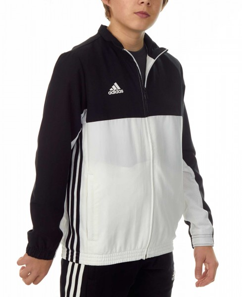 adidas T16 Team Jacket Kids schwarz/weiß, AJ5322