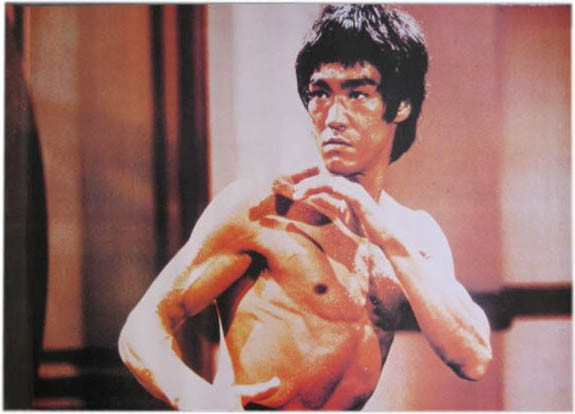 Poster Bruce Lee, in Action