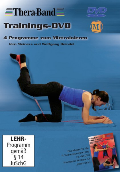 Thera-Band - Trainings-DVD 4 Programme zum Mittrainieren