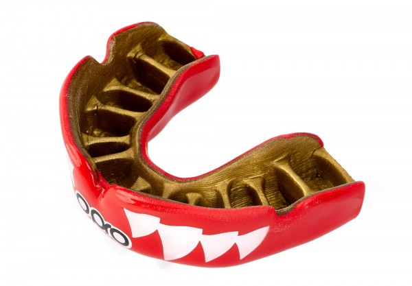 OPRO Zahnschutz PowerFit Aggression- Jaws Red/Gold
