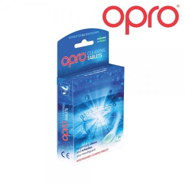 """OPRO Reinigungstabletten für Zahnschützer, 20 Stück """"Fresh Mint"""""""