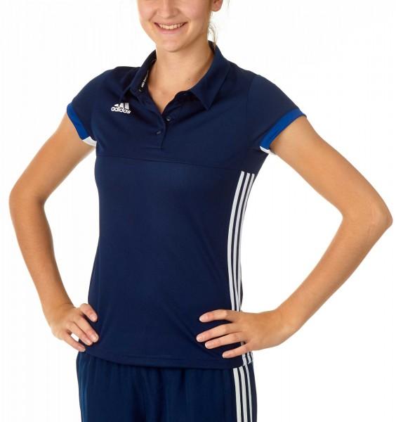 adidas T16 Team Team Polo Damen navy blau /weiß AJ5274