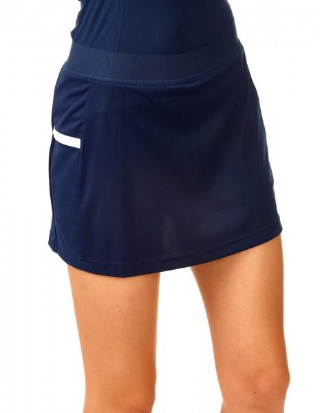 adidas T19 Skort Damen blau/weiß, DY8833