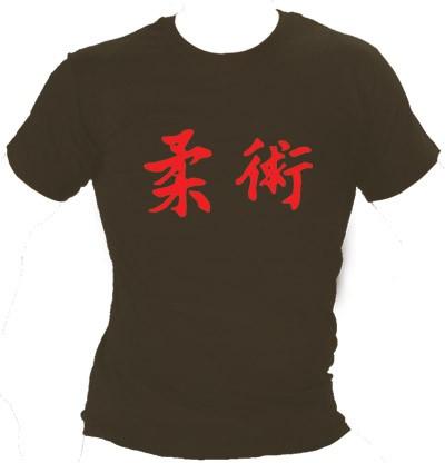 Shirt Ju-Jutsu Kanji