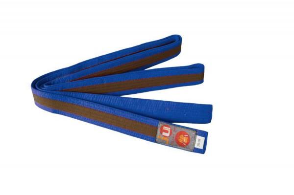 Budogürtel blau/braun/blau