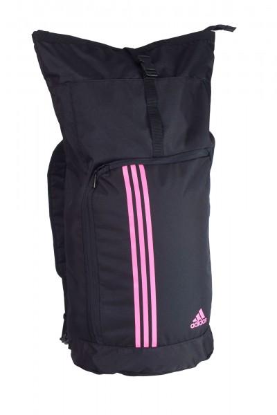 adidas Seesack Sporttasche und Rucksack adiACC041-L schwarz/shock pink