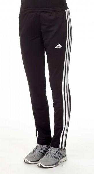 adidas T16 Team Sweat Hose Damen schwarz /weiß AJ5390