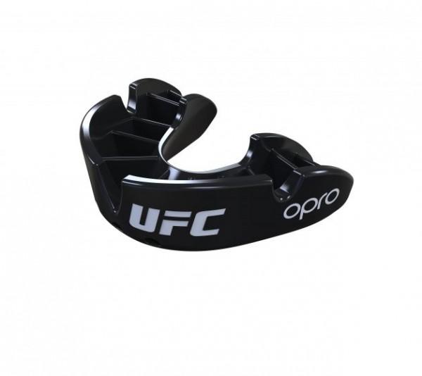 """OPRO """"UFC"""" Zahnschutz Bronze - Black, Senior"""