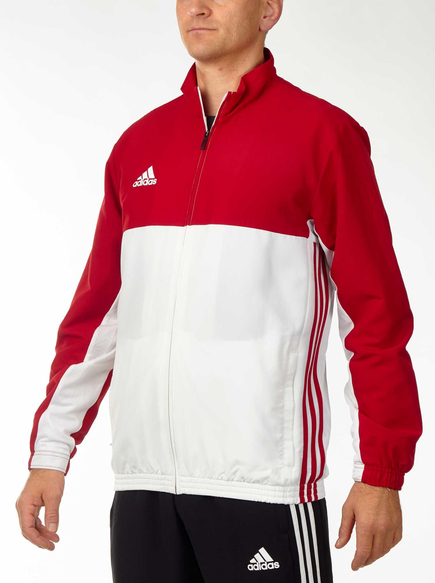 760bf31afd4938 Vorschau  adidas T16 Team Jacket Männer power rot weiß