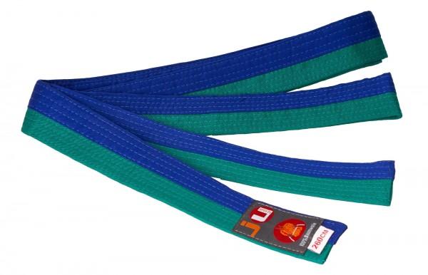 Budogürtel grün/blau (halb/halb)