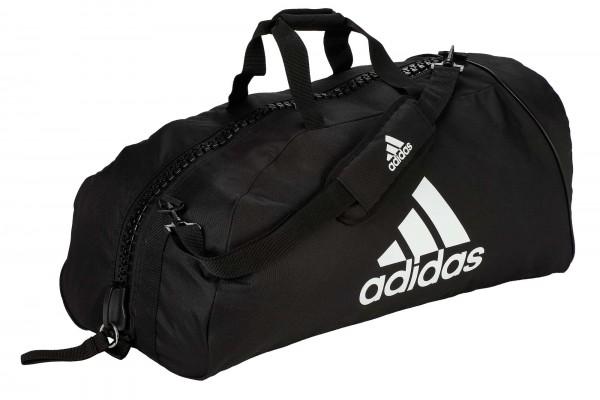 "adidas Sporttasche ""martial arts"" black/white Nylon, adiACC055"