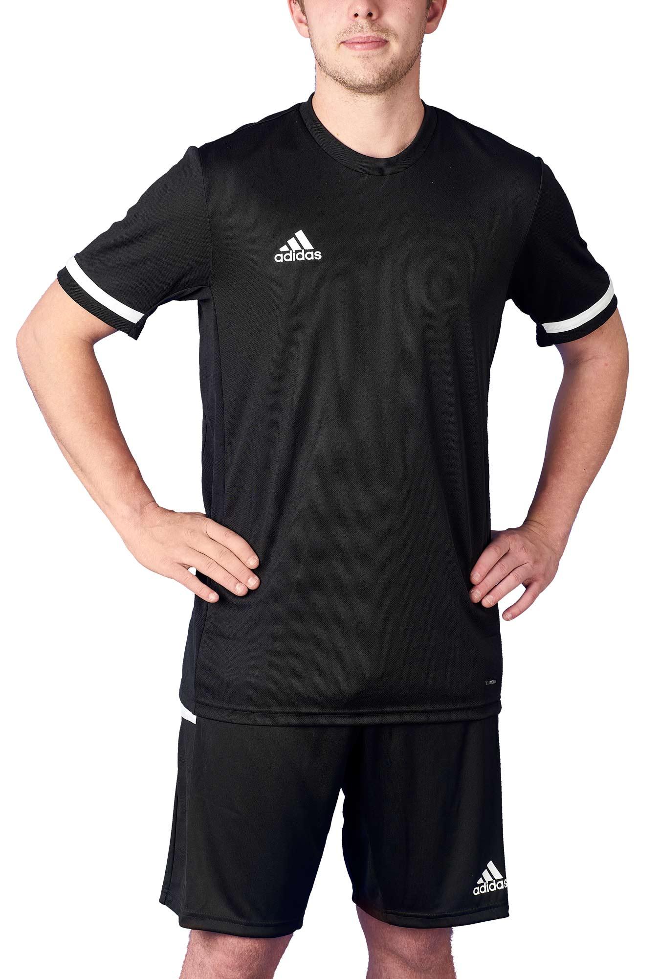 adidas T19 Shortsleeve Jersey Männer schwarzweiß, DW6894